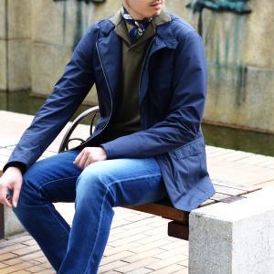 Fumagalli 【フマガリ / フマガッリ】スカーフ/ネッカチーフ ISCHIA 30269 01 コットン シルク ボタニカル ブルー cinqueclassico 06