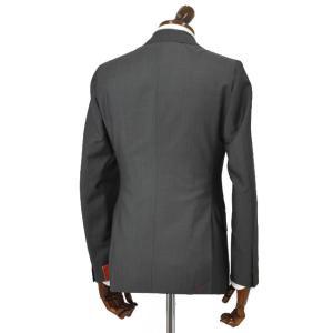 ISAIA【イザイア】シングルスーツ 55210 970 9R MUSA ウール モヘア チャコールグレー|cinqueclassico|02