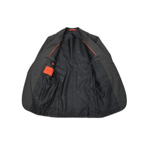 ISAIA【イザイア】シングルスーツ 55210 970 9R MUSA ウール モヘア チャコールグレー|cinqueclassico|03