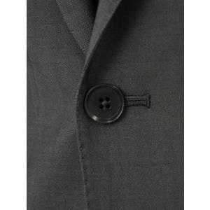 ISAIA【イザイア】シングルスーツ 55210 970 9R MUSA ウール モヘア チャコールグレー|cinqueclassico|05