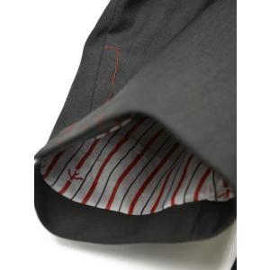 ISAIA【イザイア】シングルスーツ 55210 970 9R MUSA ウール モヘア チャコールグレー|cinqueclassico|06