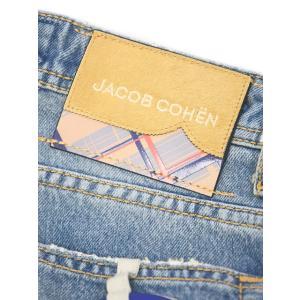 JACOB COHEN【ヤコブコーエン】デニム J622 01369W3-5101 003 コットンストレッチ ブルー|cinqueclassico|06