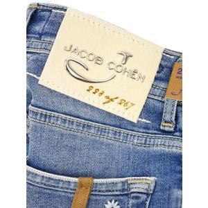 JACOB COHEN【ヤコブコーエン】デニム J622 08792W3-5103 003 Limited Edition リミテッドエディション コットン ストレッチ ブルー|cinqueclassico|06