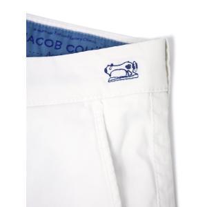 JACOB COHEN【ヤコブコーエン】コットンパンツ BOBBY 08165V-5104 111 コットン ストレッチ ホワイト|cinqueclassico|08