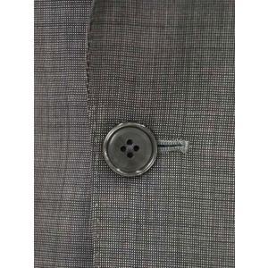 LARDINI【ラルディーニ】シングルスーツ ROW JM47005AQ EERP50490 43 ウール ピンドット グレー|cinqueclassico|05