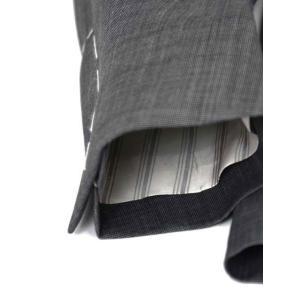 LARDINI【ラルディーニ】シングルスーツ ROW JM47005AQ EERP50490 43 ウール ピンドット グレー|cinqueclassico|06