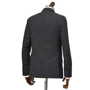 LARDINI【ラルディーニ】シングルスーツ JN0883AQ RP51494 1 ウール チェック グレー cinqueclassico 02