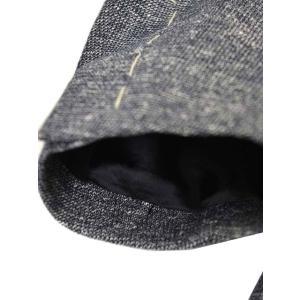 LARDINI【ラルディーニ】 シングルジャケット JM0526AQ EERP50588/1 コットンリネン メランジ ネイビー|cinqueclassico|07