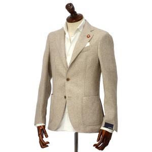 LARDINI【ラルディーニ】 シングルジャケット JP0903AQ EGA52527 9  EASY ウール リネン メランジ ベージュ|cinqueclassico