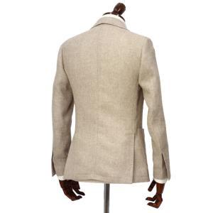 LARDINI【ラルディーニ】 シングルジャケット JP0903AQ EGA52527 9  EASY ウール リネン メランジ ベージュ|cinqueclassico|02