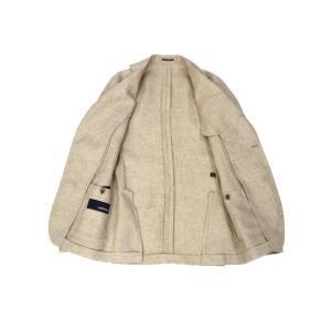LARDINI【ラルディーニ】 シングルジャケット JP0903AQ EGA52527 9  EASY ウール リネン メランジ ベージュ|cinqueclassico|03