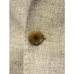 LARDINI【ラルディーニ】 シングルジャケット JP0903AQ EGA52527 9  EASY ウール リネン メランジ ベージュ|cinqueclassico|05