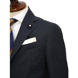 LARDINI【ラルディーニ】シングルスーツ JP086AQ EGC52416 4 EASY コットン ネイビー|cinqueclassico|04