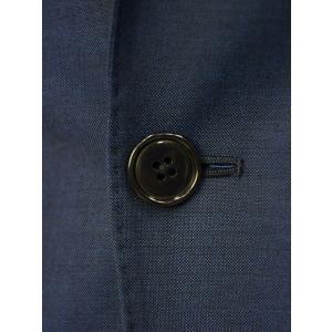 LARDINI【ラルディーニ】3ピースシングルスーツ JP0880AQ EGRP52491 67 ウール ピンヘッド ブルーグレー|cinqueclassico|05