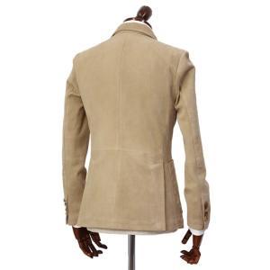LARDINI【ラルディーニ】 シングルジャケット JPLJK2 EG52070 420 シープスキン ベージュ cinqueclassico 02