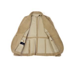 LARDINI【ラルディーニ】 シングルジャケット JPLJK2 EG52070 420 シープスキン ベージュ cinqueclassico 03
