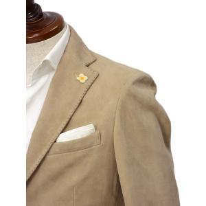 LARDINI【ラルディーニ】 シングルジャケット JPLJK2 EG52070 420 シープスキン ベージュ cinqueclassico 04