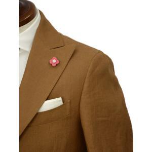 LARDINI【ラルディーニ】シングルピークドスーツ JP0761AQ EGRP52485 5 リネン テラコッタ|cinqueclassico|04