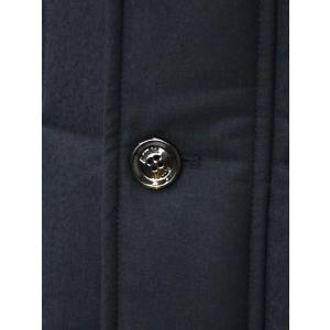MOORER【ムーレー】セミロングダウンジャケット VALENTE-LL  BLU ヴァージンウール カシミア ネイビー|cinqueclassico|05