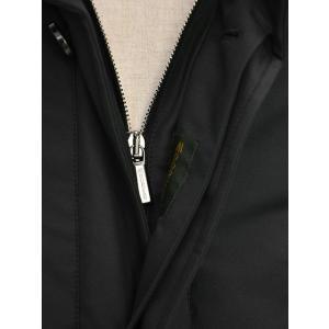 MOORER【ムーレー】スタンドカラーダウンコート PERRY GF NERO ポリエステル ブラック|cinqueclassico|06