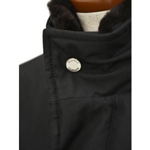 MOORER【ムーレー】スタンドカラーダウンコート PERRY GF NERO ポリエステル ブラック|cinqueclassico|08