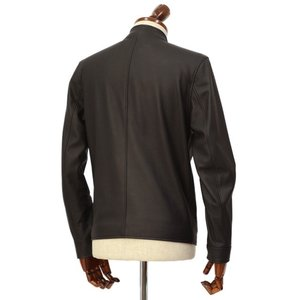 SERAPHIN【セラファン】 シングルライダースジャケット BIKER ANDY 129 00 CERF NOIR ディアスキン ブラック|cinqueclassico|02