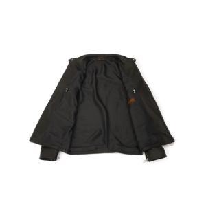 SERAPHIN【セラファン】 シングルライダースジャケット BIKER ANDY 129 00 CERF NOIR ディアスキン ブラック|cinqueclassico|03