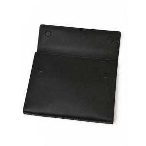 SERAPIAN【セラピアン】SEVOEMLL6966-M34-A001 Evolution Neroドキュメントケース ブラック|cinqueclassico|04