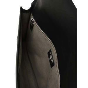 SERAPIAN【セラピアン】SEVOEMLL6966-M34-A001 Evolution Neroドキュメントケース ブラック|cinqueclassico|05