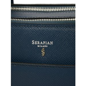 SERAPIAN【セラピアン】SEVOEMLL6871 M38 A022 Evolution Blue Oceano 2ROOM ブリーフケース ブルー|cinqueclassico|07