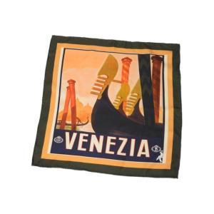 Spacca Neapolis【スパッカネアポリス】スカーフ/ネッカチーフ BN50 VENEZIA シルク プリント|cinqueclassico|02