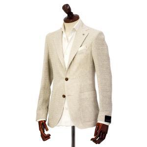 先行販売 早得 【袖修理無料】TAGLIATORE【タリアトーレ】シングルジャケット G-DAKAR 85UEG046 A1020 ダカール シルク リネン ベージュ cinqueclassico