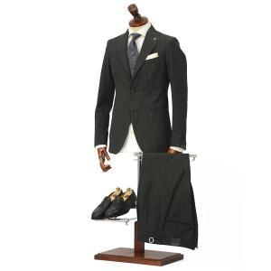 TAGLIATORE【タリアトーレ】シングルスーツ G-DAKAR P-BRENT 33UEZ006 M1048 コットン シアサッカー ブラウン×ブラック|cinqueclassico