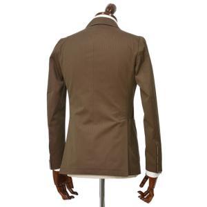 TAGLIATORE【タリアトーレ】ダブルスーツ G-DARREL P-BRENT 24UEZ084 M3086 コットン ソラーロ ブラウン|cinqueclassico|02
