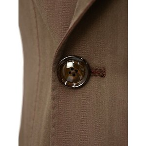 TAGLIATORE【タリアトーレ】ダブルスーツ G-DARREL P-BRENT 24UEZ084 M3086 コットン ソラーロ ブラウン|cinqueclassico|05