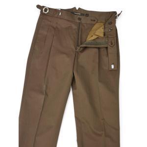 TAGLIATORE【タリアトーレ】ダブルスーツ G-DARREL P-BRENT 24UEZ084 M3086 コットン ソラーロ ブラウン|cinqueclassico|08