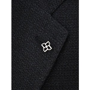 先行販売 早得 【袖修理無料】15周年ノベルティー付き  TAGLIATORE【タリアトーレ】シングルジャケット G-DAKAR22K 85UEG051 N1119 シルク リネン ブラック|cinqueclassico|05