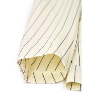 先行販売 早得 【袖修理無料】15周年ノベルティー付き  TAGLIATORE【タリアトーレ】シングルスーツ A-DAKAR22KK X1020 ダカールストライプ ホワイト×ブルー|cinqueclassico|06