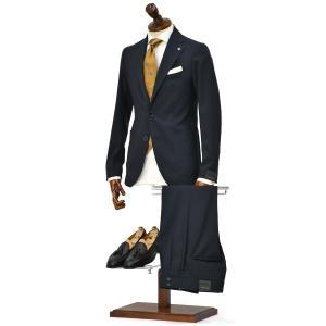 15周年ノベルティー付き TAGLIATORE【タリアトーレ】シングルスーツ G-DAKAR22K 15UEZ185 B1099 ダカール ヴァージンウール  ネイビー|cinqueclassico