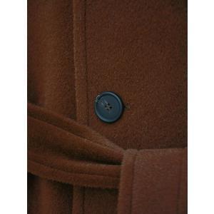 TAGLIATORE【タリアトーレ】バルカラーベルテッドコート LARS 77UIC142 K1021  アルパカ ヴァージンウール ブラウン|cinqueclassico|05
