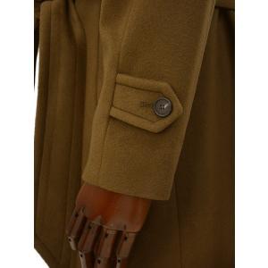 TAGLIATORE【タリアトーレ】ニーレングス ダブルベルテッドコート RIPA 35UIC072 M448 カシミア ブラウン|cinqueclassico|05