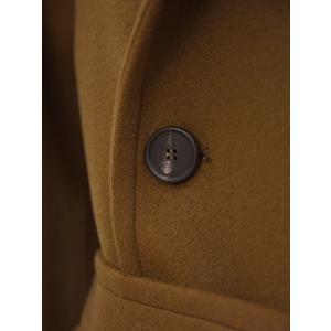TAGLIATORE【タリアトーレ】ニーレングス ダブルベルテッドコート RIPA 35UIC072 M448 カシミア ブラウン|cinqueclassico|07