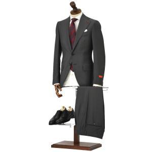 ISAIA【イザイア】シングルスーツ 55210 970 9R MUSA ウール モヘア チャコールグレー|cinqueclassico