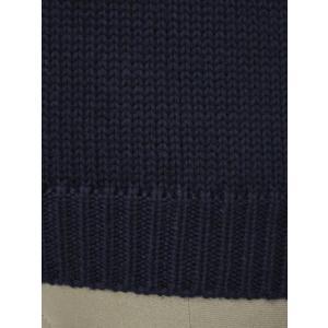 roberto collina【ロベルトコリーナ】クルーネックニット RM02001 10 wool NAVY(ウール ネイビー)|cinqueunaltro|04