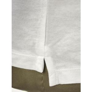 roberto collina【ロベルトコリーナ】半袖ヘンリーネックカットソー RN90043 01 cotton BIANCO(コットン ホワイト)|cinqueunaltro|05