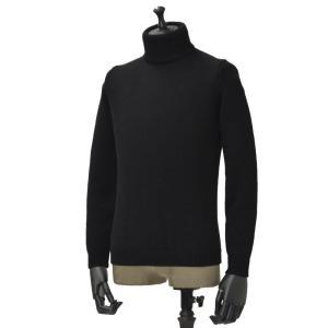 roberto collina【ロベルトコリーナ】タートルネックニット  RN20003 09 wool BLACK(ウール ブラック)|cinqueunaltro