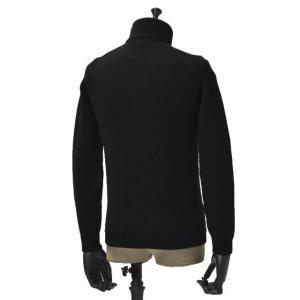 roberto collina【ロベルトコリーナ】タートルネックニット  RN20003 09 wool BLACK(ウール ブラック)|cinqueunaltro|02