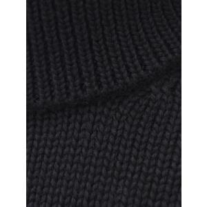 roberto collina【ロベルトコリーナ】タートルネックニット  RN20003 09 wool BLACK(ウール ブラック)|cinqueunaltro|04