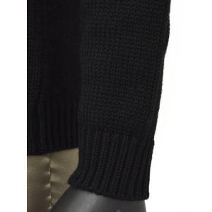 roberto collina【ロベルトコリーナ】タートルネックニット  RN20003 09 wool BLACK(ウール ブラック)|cinqueunaltro|05