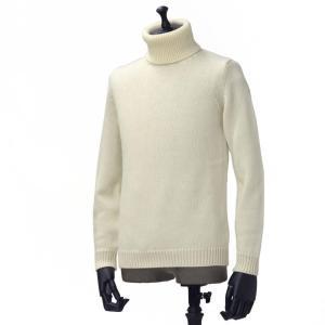 roberto collina【ロベルトコリーナ】タートルネックニット  RN20003 02 wool ECRU(ウール エクリュホワイト)|cinqueunaltro